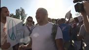 Финикс Щата Аризона Протест Срещу Исляма