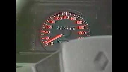 Renault 19 16v Testdrive