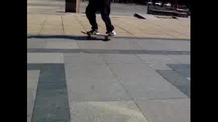 Скейтборд - Switch Flip