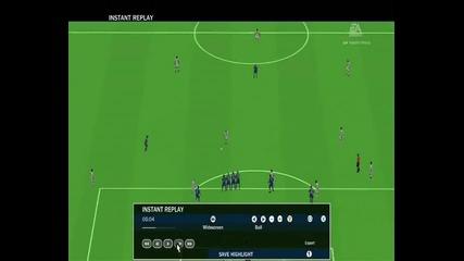 Sneijder - Free Kick [fifa 10]