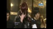4minute Hyuna - Change [inkigayo 10.01.2010]