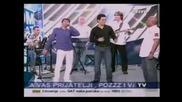 Sinan Sakic Dzej Ramadanovski i Adil - Za vencanim stolom , Cero moja, Sine moj, uzivo (sinan place)