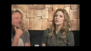 Robert Plant And Alison Krauss - Interview 2/3