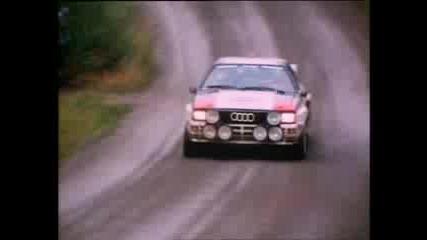 Wrc - Audi Quattro In Action