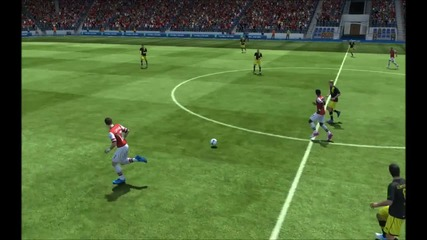 Giroud - Красив гол в ъгъла   Fifa 13  
