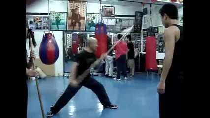 Spear technique by Master