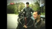 Иван Ангелов се качи на кон и след това потегли за Айтос с лудашки викове - Aйтос Aйдол еп.1 - 18.04.08 GQ