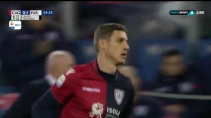 Кирил Десподов дебютира на стадиона на Каляри