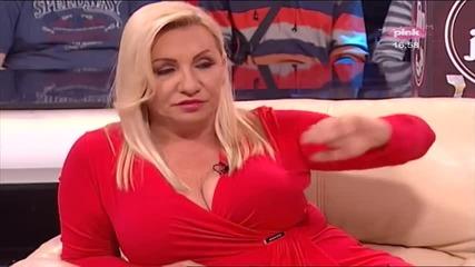 Vesna Zmijanac o Zorici Brunclik - Nedeljno popodne Lee Kis - (TV Pink 2014)