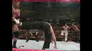WWF RAW - Hardy Boyz & Lita vs. Stone Cold Steve Austin, Triple H & Stephanie McMahon