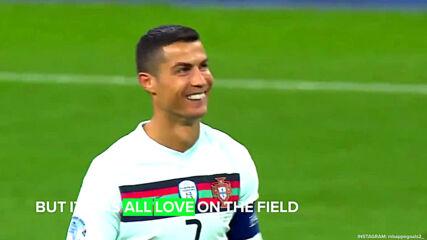 Kylian Mbappé plays against 'idol' Cristiano Ronaldo