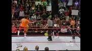 Wwe Raw - Carlito vs Shelton Benjamin vs Johny Nitro!
