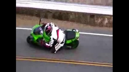 Mulholland Hwy California Kawasaki Zx6r