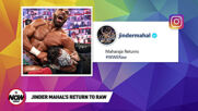 Jinder Mahal Returns to Raw with Veer & Shanky: WWE Now India