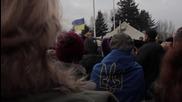 Ukraine: Thousands rally in Krivoi Rog over city's power vacuum