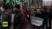 Ukraine: UKROP party supporters demand the release of leader Gennady Korban