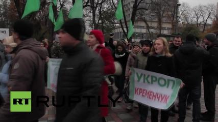 Ukraine: UKROP party supporters demand the release of leader Gennady Korban