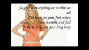 Hannah Montana Forever - Ordinary Girl Lyrics и Бг Превод