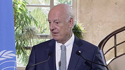 Switzerland: UN 'not abandoning or letting the Syrian people down' - de Mistura