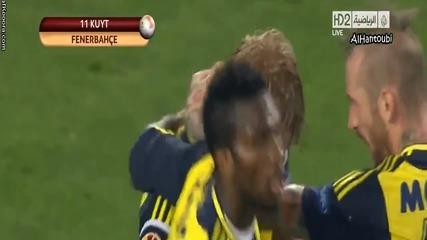 Fenerbahce vs Lazio 2-0 Goals 4.4.2013
