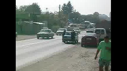 Закъсали Полицаи