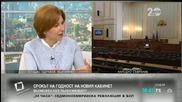 Боряна Димитрова: Правителството зависи от обществената атмосфера