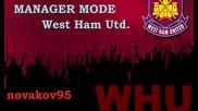Fifa 13 Manager Mode West Ham S1 E14! Тежки Мачове!