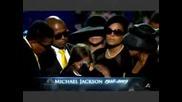 Дъщерята на Майкъл Джексън закрива помена .