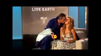 Live Earth ... Cathy y Miguel