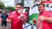 France: Welsh and N. Ireland fans gear up for historic Euro bout
