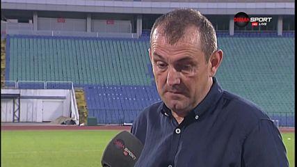 Загорчич: Имаше огромно напрежение в играчите ми