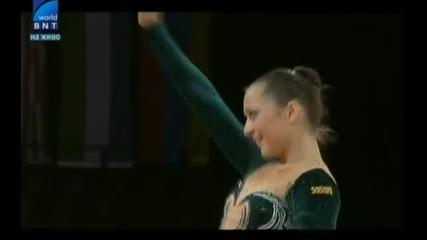 успех за България и Силвия Митева на Световното по художествена гимнастика!