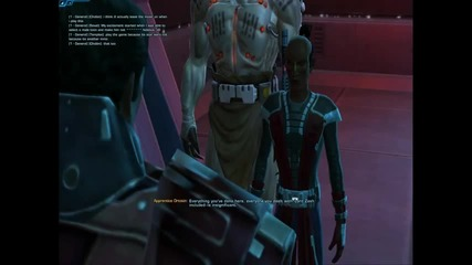 Star Wars The Old Republic - Inquisitor's First Lightsaber