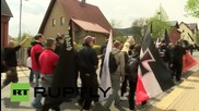 Germany: Right-wing nationalists rally in Saalfeld on May Day