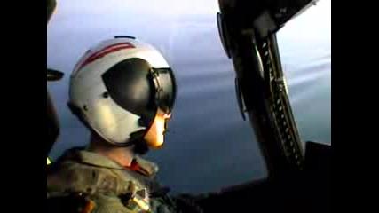 Видеофилм на приземяване на преносител