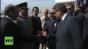 Египетският президент Сиси пристигна в Москва за парада по случай Деня на Победата