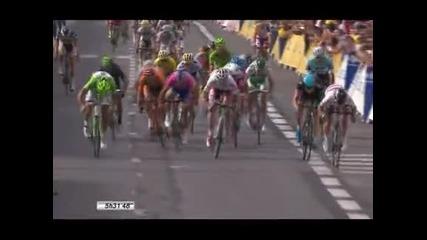 Марк Кавендиш спечели петия етап от Тур дьо Франс