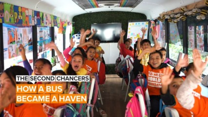 The Second Chancers: How a magical school bus saves migrant students
