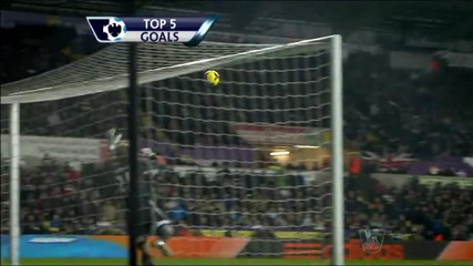 Ашли Йънг с най-красив гол на 17-я кръг в Англия