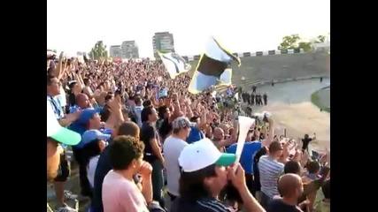 Сини фенове в Пловдив!