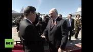 Ши Джинпинг пристигна на официална визита в Минск