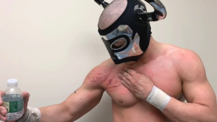 Victorious but bruised, Ligero sounds off on Worlds Collide performance: WWE.com Exclusive, April 17, 2019