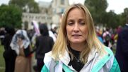 UK: 20,000 pro-refugee demonstrators march through central London