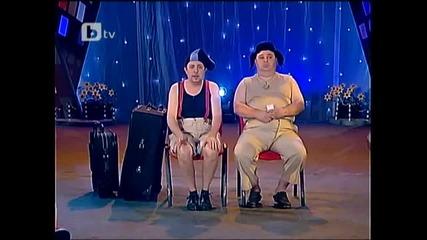 Сашето и Ванкатa се спукват от смях в ефир!