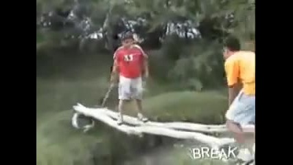Fat People Falling and Funny Accidents