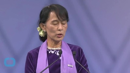 Aung San Suu Kyi In Beijing For First China Visit