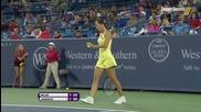 Cincinnati 2015 1/2 Simona Halep vs Jelena Jankovic Set-1