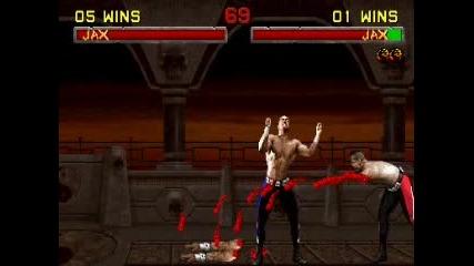 Mortal Kombat - Jax Fatality