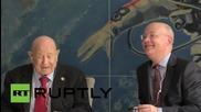 UK: Legendary cosmonaut Alexei Leonov speaks at London Science Museum