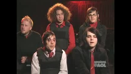 My Chemical Romance - On The Spot Questions